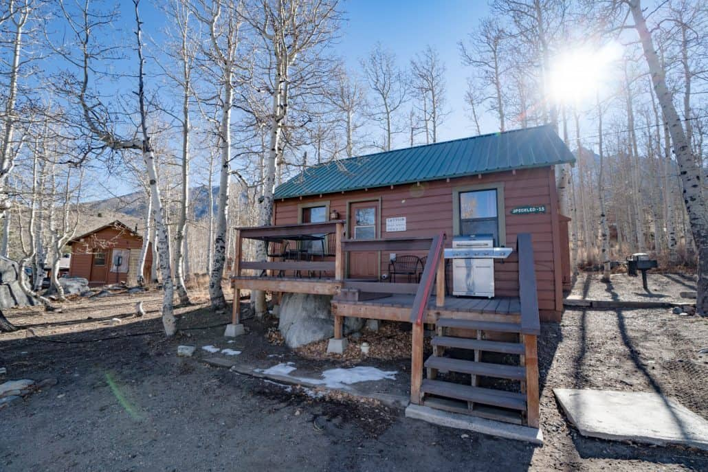 Speckled 15 Convict Lake Resort