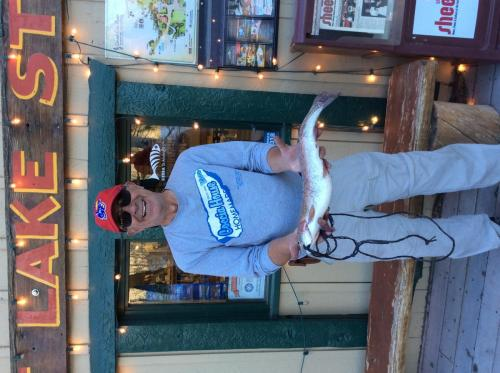 Bill murphy simi valley 3.75lbs, 21in, inlet, red garlic egg  - Copy