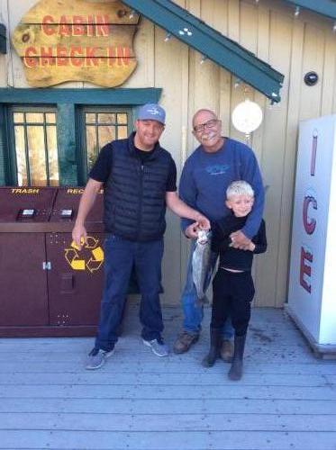 Liam hoffman (kid), claremont CA, powerbait red, north shore,4.25lbs, 21in