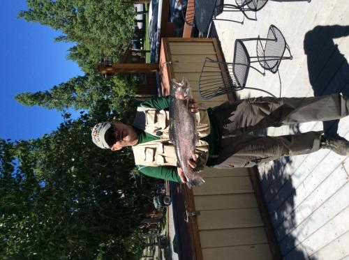 Mike Milligan of Prescott, Az 6.25 lb 23 on rainbow powerbait on back of the lake  (1)
