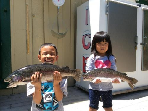 Nixon Suzuki.Taylor Matsunaga.4.75lbs.2.75lbs.powerbait.south shore