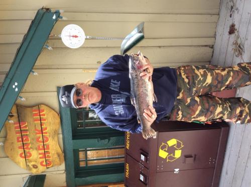 Perry Cummings, Inglewood,Ca 8lbs 24 in South s  powerbait salmon